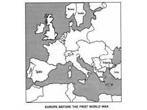 World War Ii Outline Map Of Europe by World War I And World War Ii
