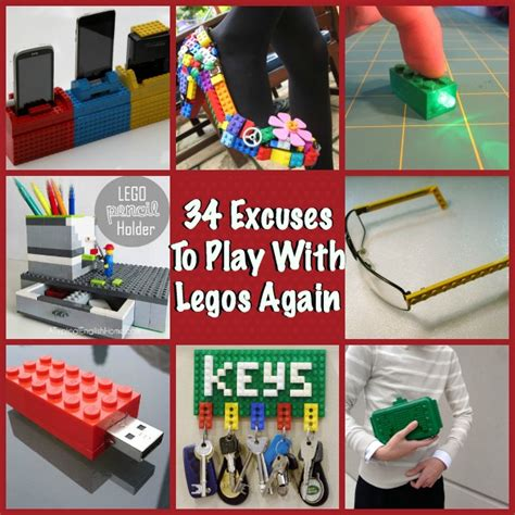 Diy Craft Projects For The Yard And Garden - 34 diy lego crafts ideas to build with bricks