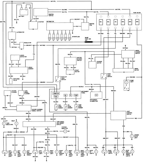 stupefying 1983 toyota wiring diagram diagrams 1986