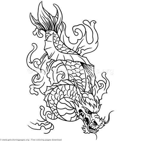 koi fish coloring pages 10 koi fish coloring pages getcoloringpages org