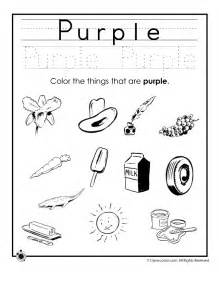 color worksheets learning colors worksheets for preschoolers color purple