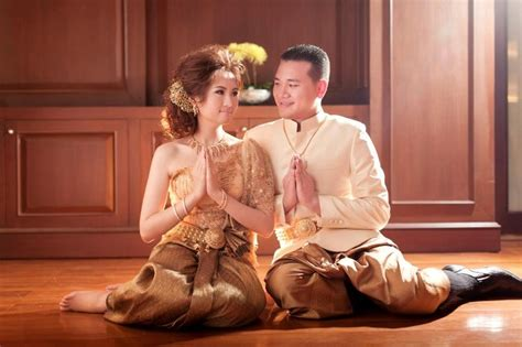 today brides an excuse to put your wedding dress on again 75 best thai traditional clothing images on pinterest