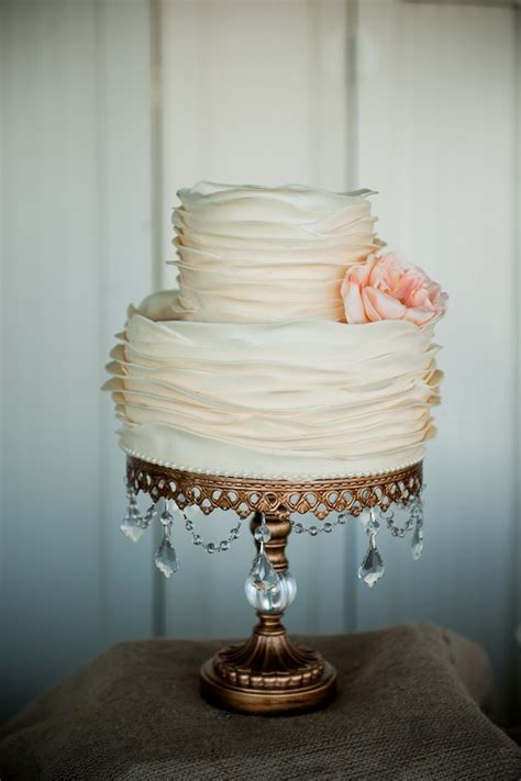 chandelier cake stand the merry bride