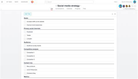 4 Time Saving Social Media Management Workflows And Templates Social Media Workflow Template