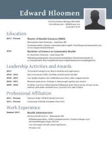 where are resume templates in word 89 best yet free resume templates for word