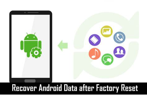 reset android mobile data usage how to recover lost data after factory reset on android