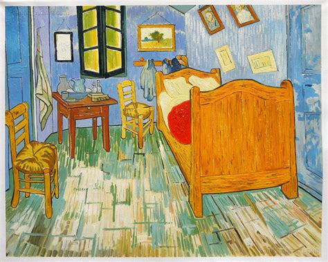 bedroom at arles vincent s bedroom in arles 1889 vincent van gogh paintings