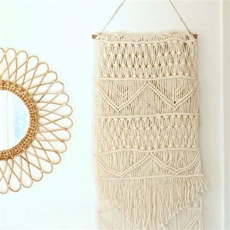 How To Make A Macrame Wall Hanging - 1000 ideas about macrame wall hanging patterns on