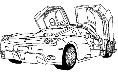 coloring pages ferrari cars deluxe ferrari sport car coloring page ferrari car
