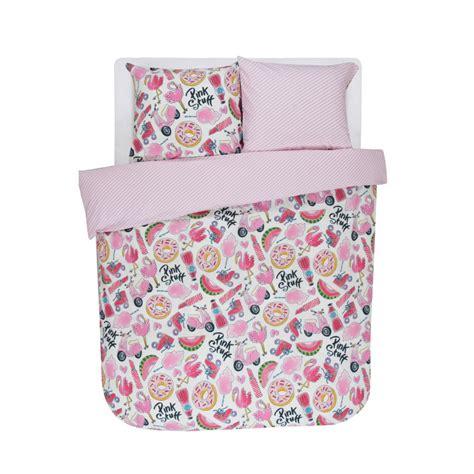 dekbedovertrek 240x220 roze dekbedovertrek pink stuff 2p set 240x220 60x70 van blond