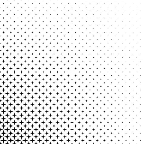 pattern vector star black and white star pattern vector free download
