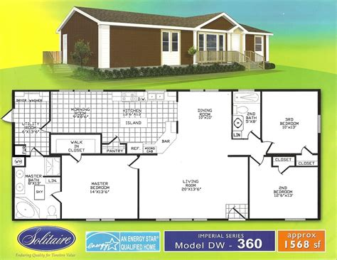 solitaire homes floor plans meze