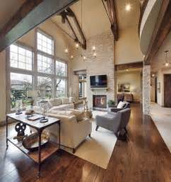 model home starr homes llc rustic family room kansas city by carpet direct kansas city