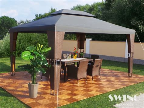 pavillon rã luxe partytent royal 3x4 m