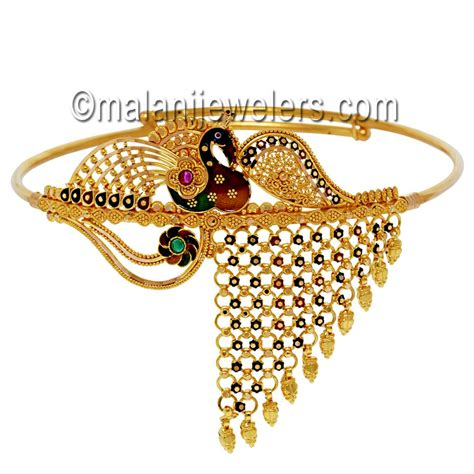 Picture Of Bajuband bajuband designs in gold