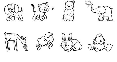 imagenes infantiles para colorear de animales dibujos de animales viviparos para colorear archivos