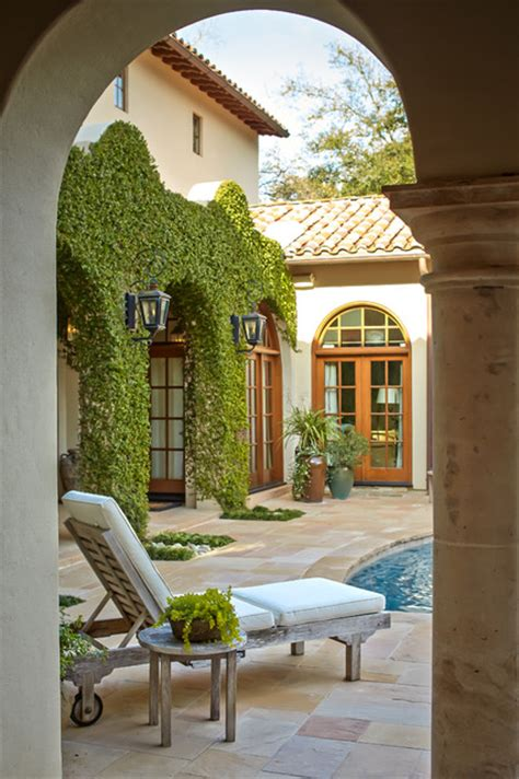 bordley mediterranean patio houston by thompson