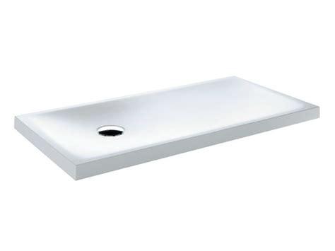 piatto doccia 130x70 piatto doccia rettangolare in corian 174 piatto doccia