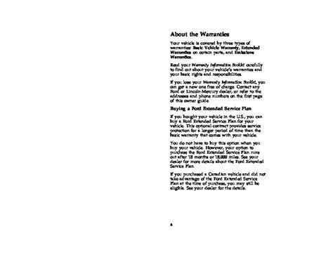 car repair manual download 1996 ford taurus user handbook 1996 ford taurus owners manual