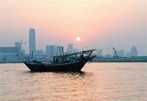 boat trip bahrain bahrain this boat is called a dhow it is an old