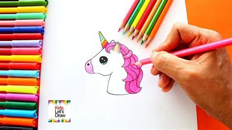 imagenes de unicornios hechos a lapiz c 243 mo dibujar emoji unicornio paso a paso how to draw
