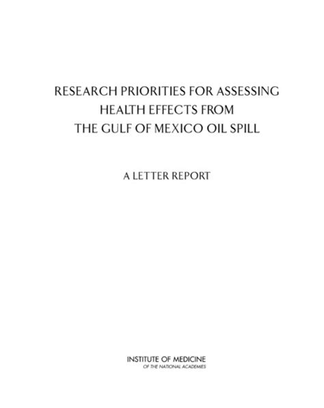 biography book report cover page research priorities for assessing health effects from the