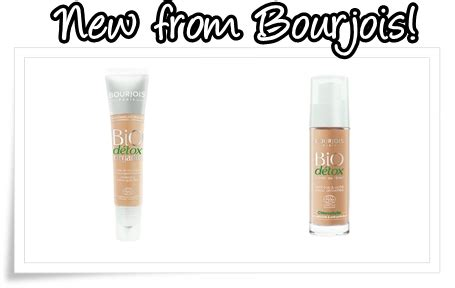 New Foundation Detox by Bourjois Bio Detox Organic Foundation And Bourjois Bio