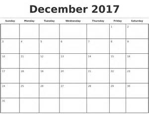calendar template december 2017 monday sunday calendar