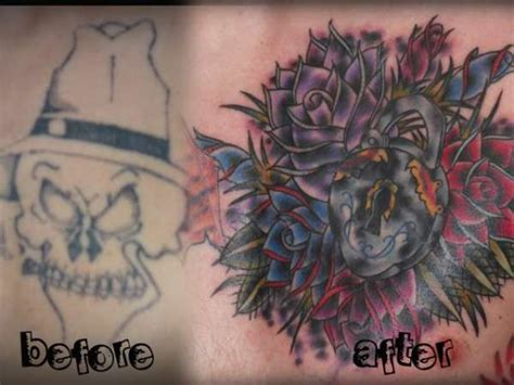 tattoo cover up before after gallery before and after of cover up tattoo