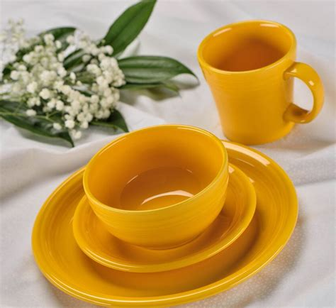 fiestaware colors daffodil is 2017 fiestaware color plus lichens and