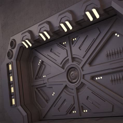 futuristic doors futuristic metallic door or gate vector 187 dondrup com