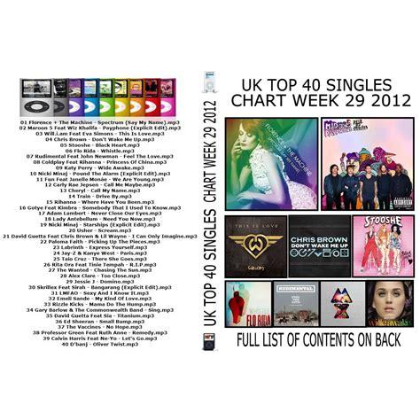 uk top 40 house music big top 40 music chart uk uk top 40 singles chart week 29 mp3 buy full tracklist