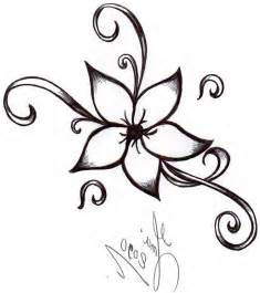 cool and easy flowers to draw cool simple flower designs