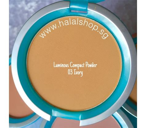Wardah Luminous Powder halal cosmetics singapore everyday luminous compact powder 03 ivory more brands available