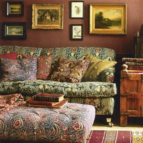 William Morris Sofa by Interior Designs With William Morris Wallpaper Interior