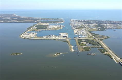 port florida port canaveral harbor in port canaveral fl united states