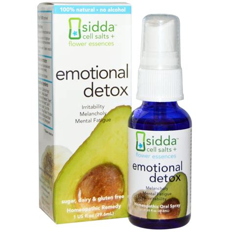 Emotional Detox Siddha Review Safety by Sidda Cell Salts Flower Essences Emotional Detox