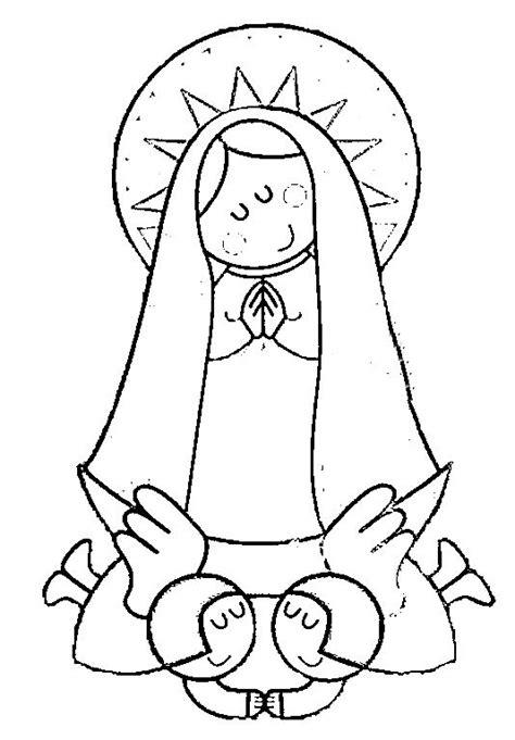 imagenes para dibujar la virgen de guadalupe imagenes de la virgen del valle para colorear imagui