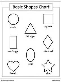 basic geometric shapes printable chart myteachingstation com
