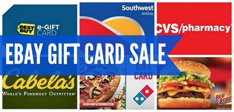 Ebay Gift Card Sale - ebay gift card sale save 15 on gift card purchases passionate penny pincher