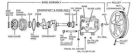kellogg 321 base pulley assby parts kellogg american parts