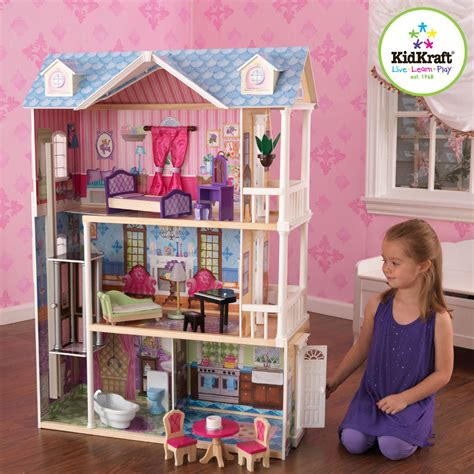 my doll house raw kidkraft my dreamy dollhouse 65823