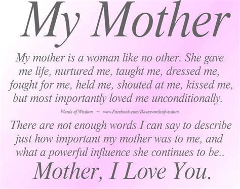 mother quotes quotes from mother to son love