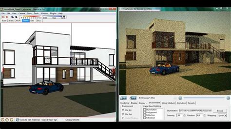tutorial sketchup italiano in the oven thea render for sketchup youtube