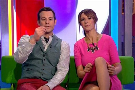Alex Jones Wardrobe by After Davina Mccall S Sports Relief Camel Toe Tv S Most