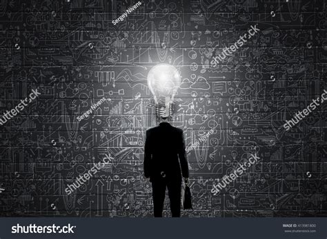 full of great ideas how his head full great ideas stock photo 413981800 shutterstock