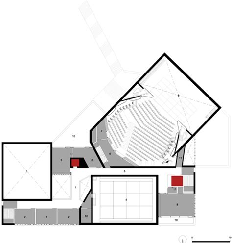 lyric theatre floor plan lyric theatre by o donnell tuomey