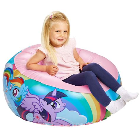 rainbow dash bean bag chair my pony chair comfortable seat
