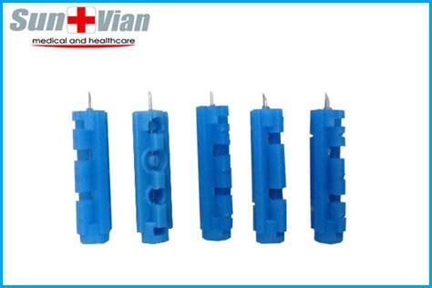 Diskon Blood Lancet Gea 28 G синий одноразовые ланцет крови глюкозы в ланцет инструменты для впрыска и прокола id товара