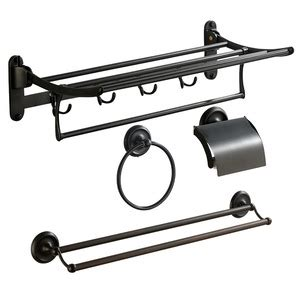 rubbed bronze bathroom accessory sets modern brushed nickel stainless steel 5 bathroom